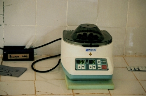 Hilfswerk Bassotu - Mwanga Spital medizinische Geräte