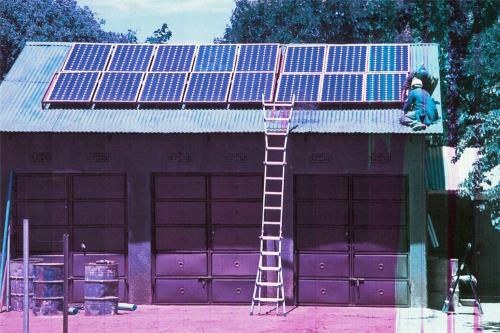 Hilfswerk Bassotu - Solaranlage für das Schesternhaus