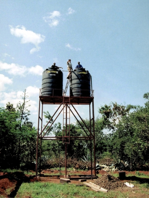 Hilfswerk Bassotu - Mwanga Dispensary Wasserversorgung