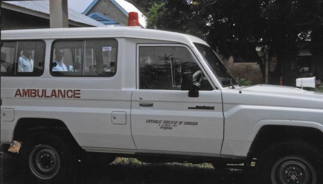Hilfswerk Bassotu - Mwanga Dispensary Krankenauto
