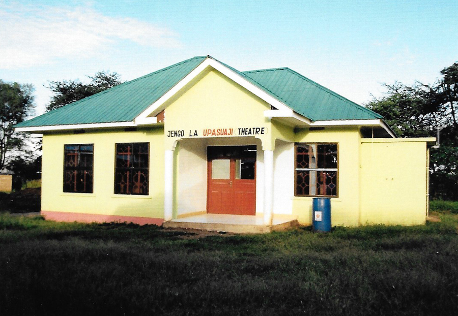 Hilfswerk Bassotu - Spital Mwanga - Operationsaal