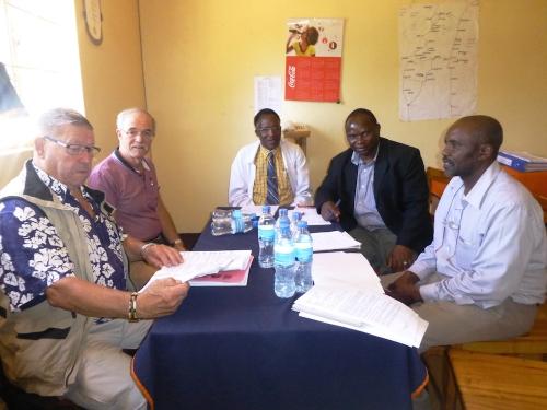 Hilfswerk Bassotu - Stiftungsrat Meeting im Spital DAREDA