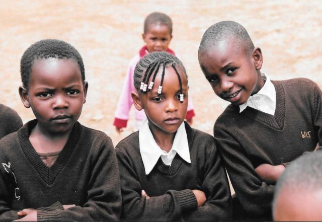 Hilfswerk Bassotu - Schulkinder
