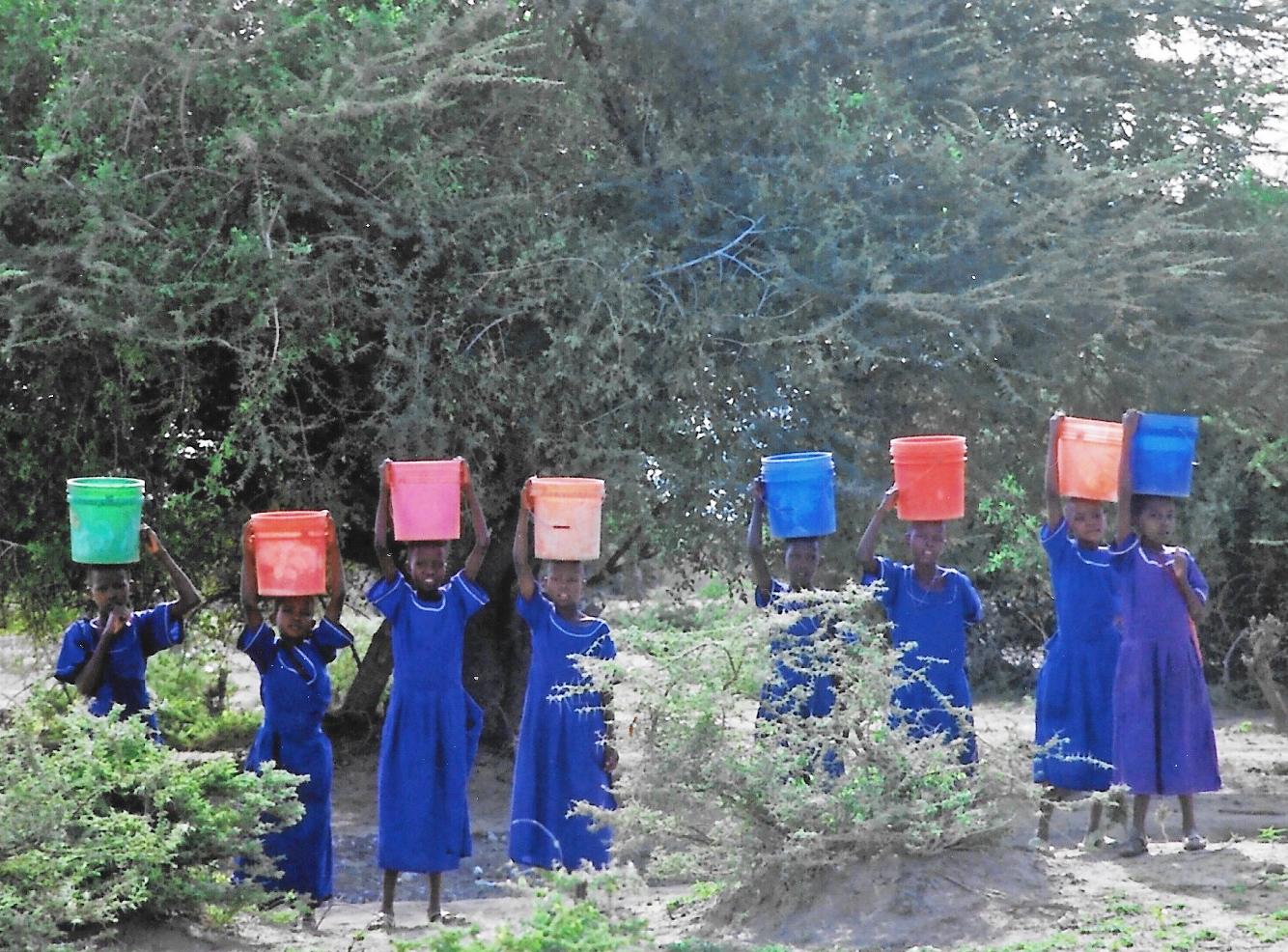 Hilfswerk Bassotu - Nambala Wasserbesorgung früher
